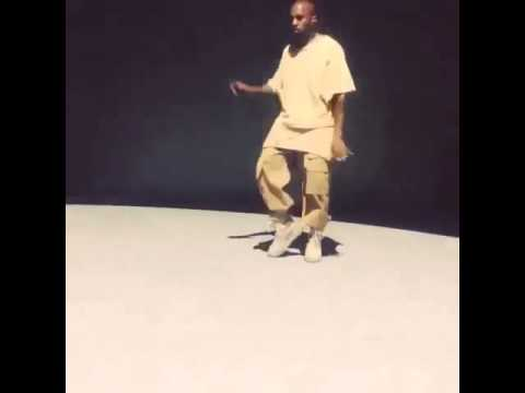 Kanye West Dirty Dancing At Paris Fashion Week Event