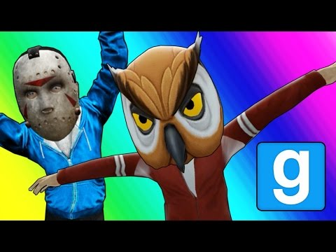 Gmod Hide and Seek - Tall Character Edition! (Garrys Mod Funny Moments)