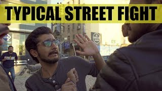 Typical Street Fight | Funny Video | Maansals