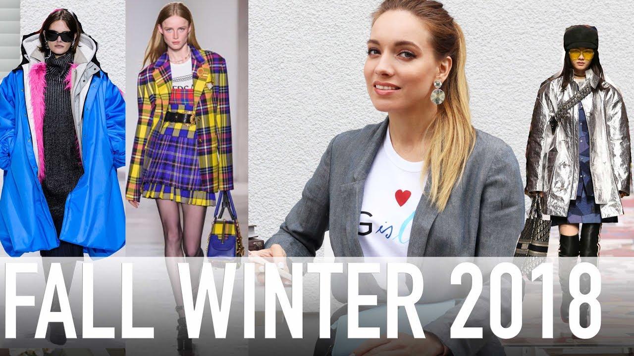 Модные Тренды Осень-зима 2018-2019|Девушки Моды Зима