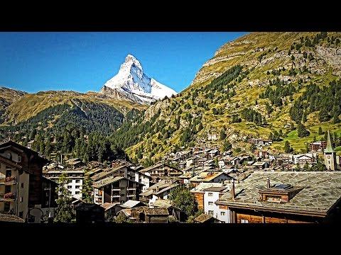 Switzerland - Zermatt with Matterhorn 4k