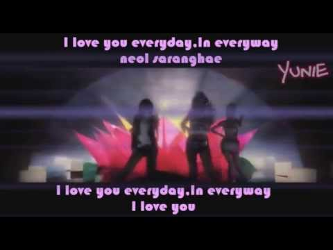 2NE1 (투애니원) - I Love You Colour Coded Lyrics (Han/Rom/Eng ...
