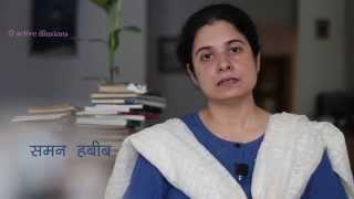 Saman Habib : Gayi Yak Bayak Jo Hawa : Bahadur Shah Zafar  - Urdu Studio with Manish Gupta