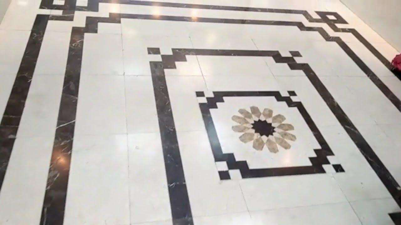 13d floral marble floor design border strip