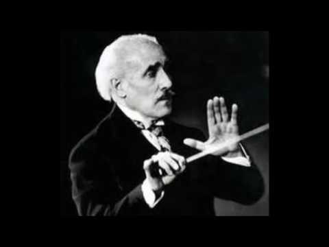 Arturo Toscanini conducts the Hague Philharmonic Orchestra (1938).