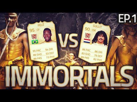 Fifa 15 Immortal Showdowns Pele VS Ruud Gullit