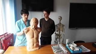 спасатель-медик Помощь при попадании инородного тела в дыхательные пути