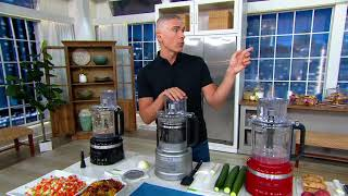 KitchenAid 13-cup Food Procęssor Plus with Dicing Kit on QVC