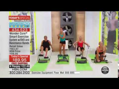 Wonder Core Smart Exercise System With Workout Dvd Youtube