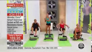 Wonder Core Smart Exercise System with Workout DVD | HSN