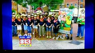 Chapel Hill Elementary on WJZ Manic Monday!