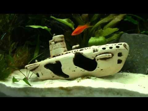 Ship Wreck Uboot Aquarium Decoration By Aqua Maniac
