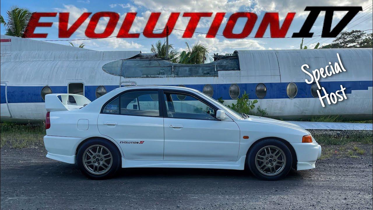Mitsubishi Lancer Evolution IV | Used Car Review (Special Host)