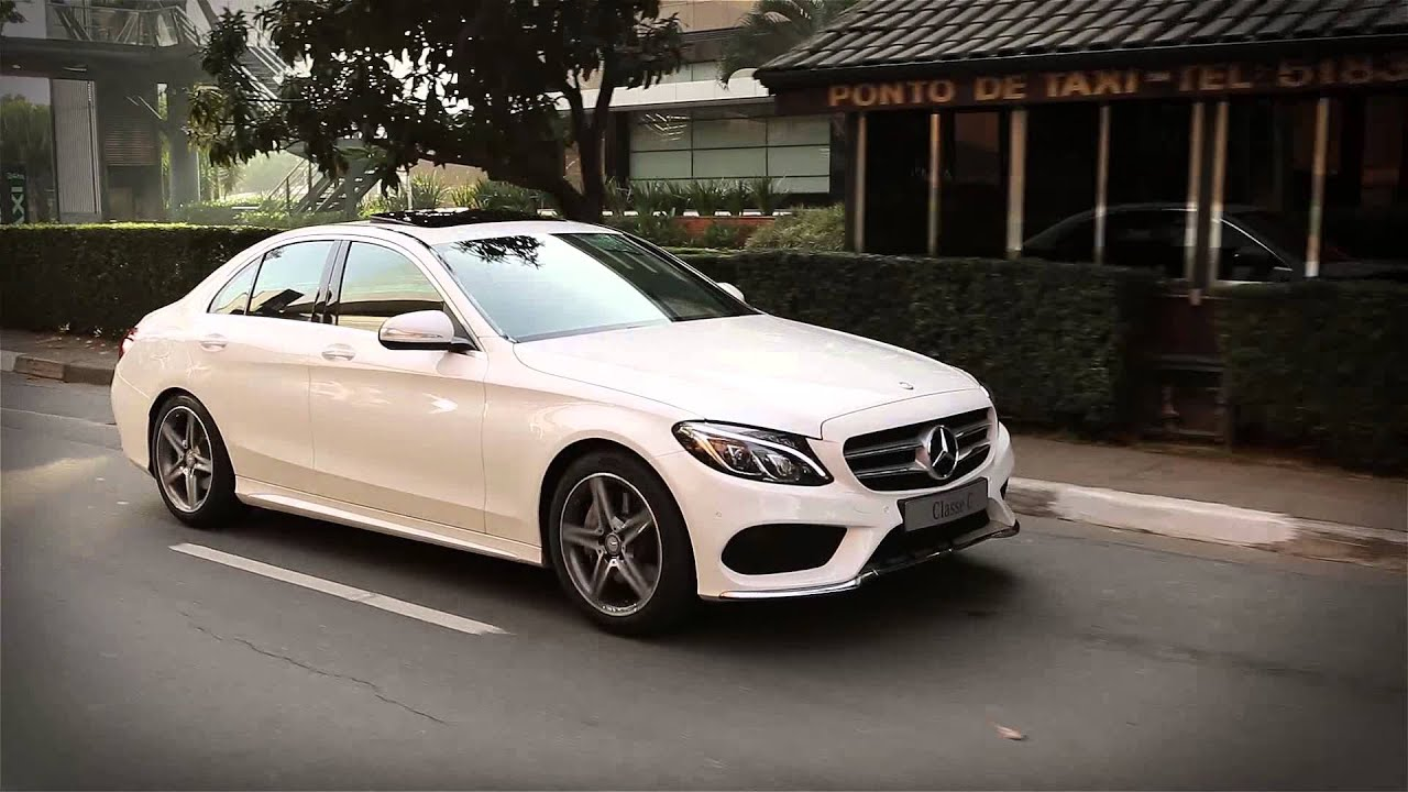 Mercedes benz classe c 2015 carros na web youtube for Mercedes benz na