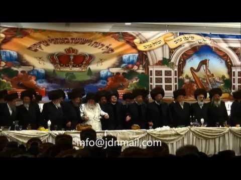 Skver Boro Park Toldos Avrohom Yitschok Wedding - Adar 5777