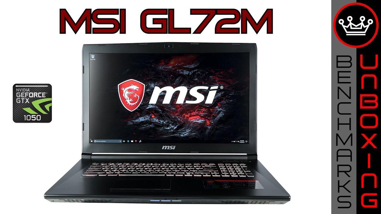 Kendte MSI GL72M (7RDX) | Budget Gaming Laptop w GTX1050 | Unboxing VI-07