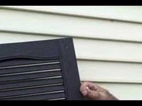 How to Install Shutters YouTube