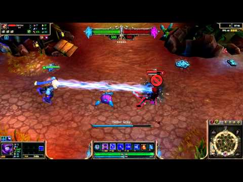 (OLD) Snow Day Malzahar League of Legends Skin Spotlight