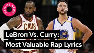 Lebron James Vs. Steph Curry: Most Valuable Lyrical Mentions | Genius News