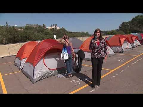 San Diego Launches Campground For The Homeless