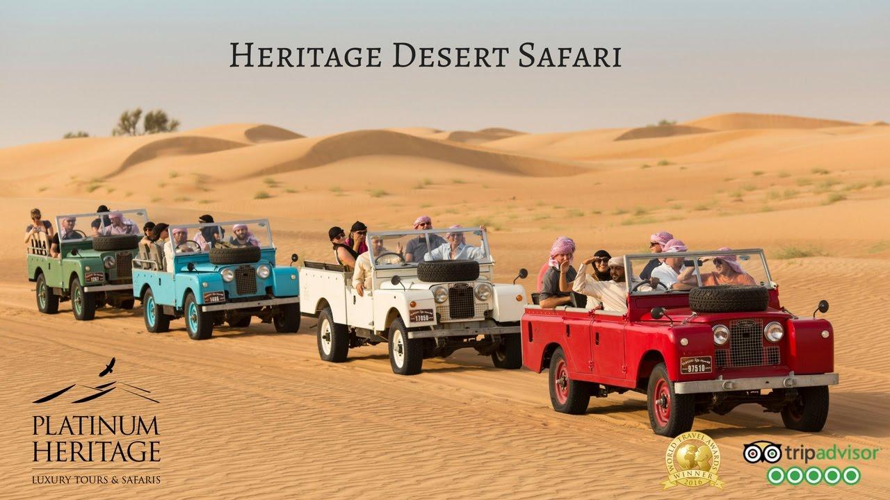 Dubai Desert Safari Tours Heritage Desert Safari Platinum