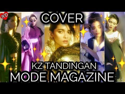 GORGEOUS COVER OF KZ TANDINGAN MODE MAGAZINE IN CHINA