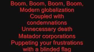 System of a Down - Boom! Lyrics