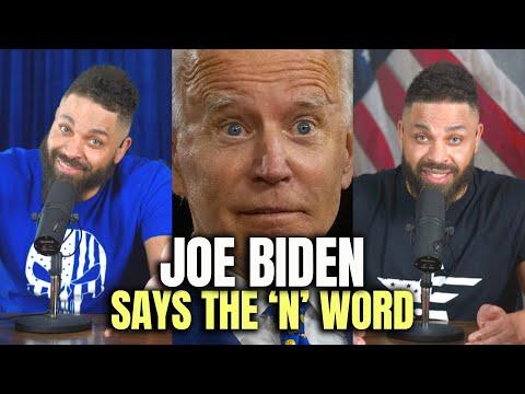Joe Biden Says The 'N' Word
