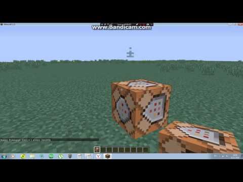 Как добавить командный блок в майкрафт на версию 1.11