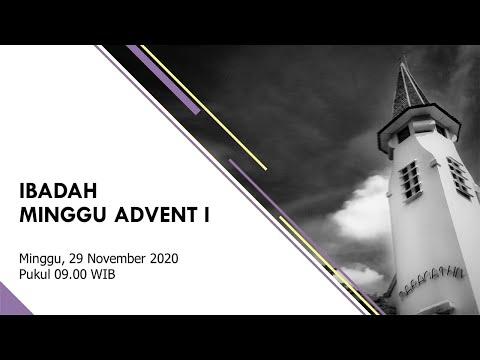 Ibadah Minggu Advent 1 - 29 November 2020