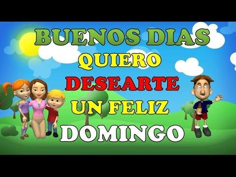 Buenos Dias y Feliz Domingo #buendia #felizdomingo