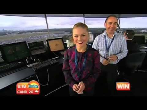TODAY Show Weather Broadcast From Sydney Tower