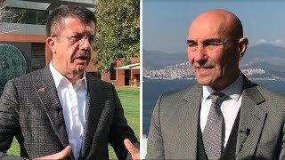 İzmir: Nihat Zeybekçi ve Tunç Soyer'e üç soru sorduk