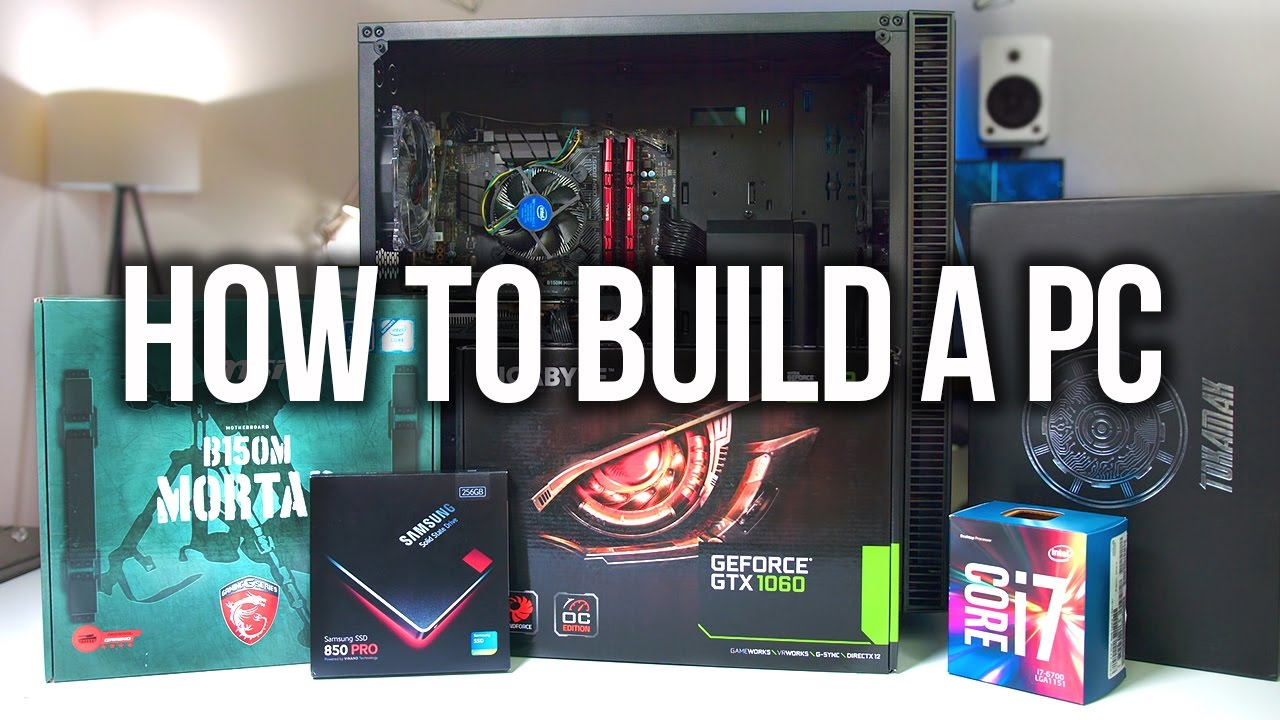 Download How to Build a Gaming PC + Giveaway!