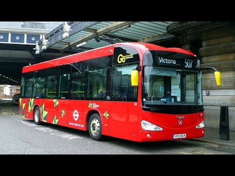 Irizar Battery Electric Buses In London
