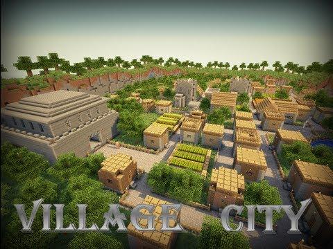 Minecraft Timelapse - Village City