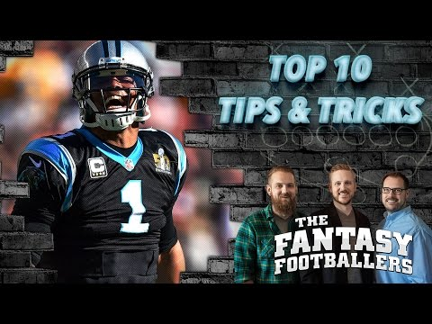 Fantasy Football 2016 - 10 Tips and Tricks to Win Your Fantasy Football League - Ep. #246