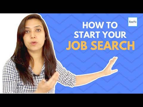 How to start your job search | Tips & First Steps