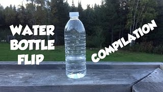 Water Bottle Flip Compilation