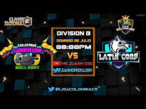 !! LIGA COLOMBIANA CR: COLOMBIA WARRIOR VS LATIN CORP  !! JU