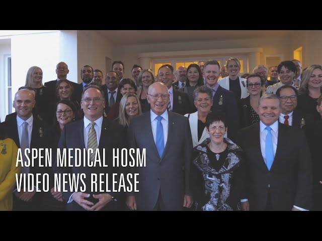 Aspen Medical Humanitarian Overseas Service Medal Presentation VNR