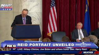 SO EMOTIONAL: Sen. Chuck Schumer Pays Tribute to Senator Harry Reid - FNN