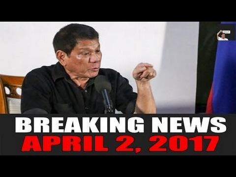 BREAKING NEWS TODAY! APRIL 2, 2017 | Pres. Duterte BINIRA NANAMAN ang mga Bias M - Philippines News