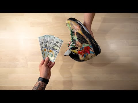 What You SHOULD Be Charging For Custom Sneakers