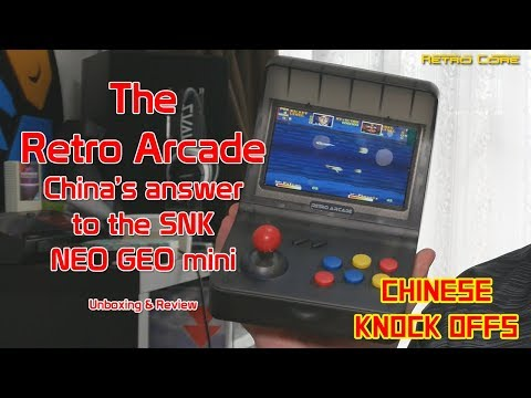 Chinese Knock Offs - RS-07 Retro Arcade - Full Unboxing And Truthful Review - 4K