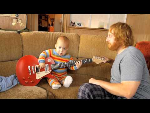 Rocksmith - PC | PS3 | Xbox 360 - The Guitar Baby official video game trailer HD