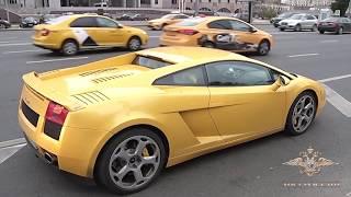 Спорткар не помог: в Москве водителя Lamborghini задержали за непропуск скорой помощи