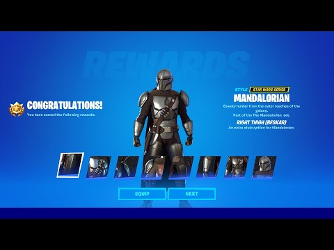 How to Unlock Mandalorian Beskar Skin Style in Fortnite Season 5 (ALL BESKAR QUESTS)