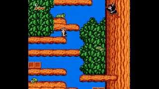 Chip and Dale Rescue Rangers 1 — Nintendo Game Walkthrough {NES} {HD 60 FPS}