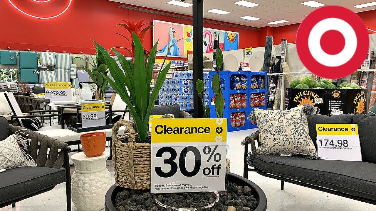 target clearance shopping 50 off patio furniture pillows planters